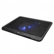 Охлаждаща поставка за лаптоп SBOX CP-19, за лаптопи 15.6 (39.62cm), чернa, NBA00051