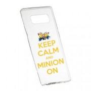 Husa de protectie Minion Keep Calm Samsung Galaxy Note 8 rez. la uzura anti-alunecare Silicon 209