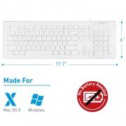 Macally Combo Keyboard & Mouse - комплект USB клавиатура и USB мишка за Mac и PC