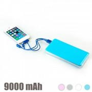 Powerbank 9000 mAh Blå