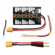 Meco XT30 Plug 1S-3S Lipo Battery Upgrade Version Parallel Charging Board for IMAX B6 Balance Charger