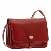 The Bridge Borsa Donna a Tracolla in Pelle Rossa linea Story