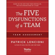 The Five Dysfunctions of a Team: Team Assessment, Paperback