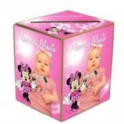 Cutie de dar cu tematica Minnie Mouse pentru botez