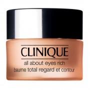 Clinique all about eyes rich balsamo idratante contorno occhi anti-rughe 15 ml