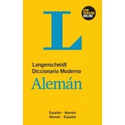 Aa.Vv. Diccionario moderno aleman/español