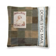 Cojin vintage patchwork canvas 45x45