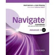 OXFORD Navigate Advanced C1 Coursebook with DVD-ROM and OOSP Pack - Bartram Mark