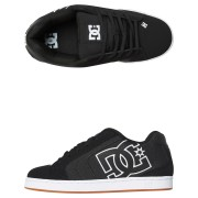 Dc Shoes Mens Net Se Shoe Black Herringbone
