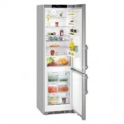 GARANTIE 4 ANI Combina frigorifica Liebherr, BluPerformance, clasa A+++, congelator NoFrost, usi inox SmartSteel CNef 4815