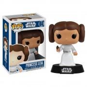 Pop! Vinyl Figura Funko Pop! Princesa Leia Bobble-Head - Star Wars