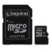 Kingston microSDHC 32GB - Minneskort