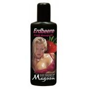 "Olio Per Massaggi Magoon ""Fragola"" - 100 Ml"