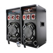 Set 2 boxe cu amplificare si MP3 Intex DJ220K-BT
