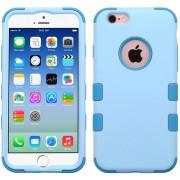 Funda Doble Protector Case Uso Rudo para iPhone 6s / 6 - Baby Blue