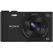 SONY Cyber-Shot DSC-WX350 Preta