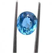 7.85 Ratti IGL Certified Blue Topaz Nice Oval cut - Ceylon Sapphire