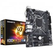 Дънна платка GIGABYTE H310M-H 2.0, Socket 1151 (300 Series), 2 x DDR4