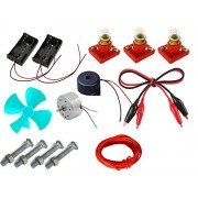 PGSA2Z Science Project Material kit /Basics in Electricity, Electrical Experiment Material kit,, Science Experiment Activity kit, Electricity Exploration kit.