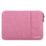 HAWEEL univerzális vízhatlan, ütéselnyelő tok max. 15 colos laptop / notebook készülékekhez - RÓZSASZÍN
