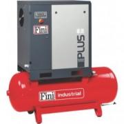 Compresor cu surub 1000 l/min, 10 bar, 7.5 kw Fini PLUS8-10-500, cu butelie 500 L