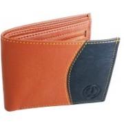 SA Enterprises Men Casual Black, Brown Artificial Leather Wallet(8 Card Slots)