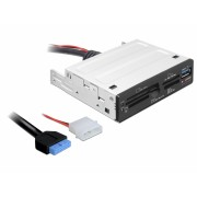 "Card reader USB 3.0 63 in 1 pentru bay 3.5"", Delock 91725"