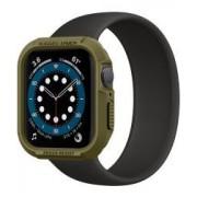 Apple Spigen Rugged Armor Apple Watch 40MM Hoesje Groen
