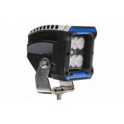 Színes munkalámpa 6 CREE LED-es terítő fény