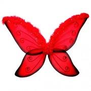 "WGI 33"" Red Jeweled Fairy Wing"