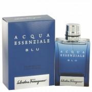 Acqua Essenziale Blu For Men By Salvatore Ferragamo Eau De Toilette Spray 1.7 Oz
