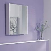 Hudson Reed Armoire de toilette à miroir suspendu – Blanc – 65 cm x 60 cm - Geo