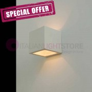 LIBERTI LAMP linea ceramica Quadro Mini Applique Cubetto Design In Ceramica Gesso Da Colorare