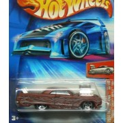 2004 First Editions #33 Tooned Chevy Impala 1964 Brick Red #2004 33 Collectible Collector Car Mattel Hot Wheels