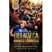 Evadare din biblioteca domnului Lemoncello coperta film - Chris Grabenstein