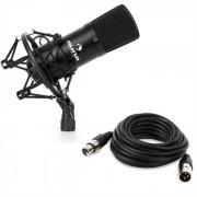 Auna CM001B Micrófono condensador de estudio XLR negro