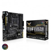 Tarjeta Madre Asus TUF B450M-PLUS Gaming, socket AM4/ PS2/ DVI-D/ HDMI