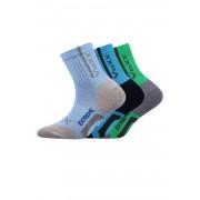 Josífek gyerek zokni 3 pár egy csomagban színes 30-34