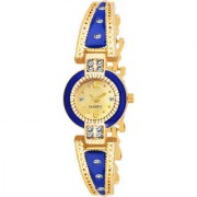 New Golden Bracelet Watch Analog Watch For Women Girl