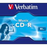 CD-R Verbatim MUSIC 80MIN JC (43365)