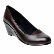 Maysun Brown Comfortable Ballerinas for Women/Comfortable Casual Belly/Party Wear/Original formal Shoes/Office Wear