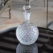 Carafe cristal pointe de diamant