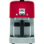 Cafetiera Kenwood Kmix COX750RD 1000W, 750 ml functie reglare aroma cafea Rosu