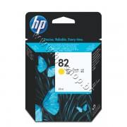 Мастило HP 82, Yellow (28 ml), p/n CH568A - Оригинален HP консуматив - касета с мастило