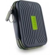 TIZUM 8 x USB Flash Drives Carrying Case, Premium Quality, Hard EVA for Flash/key Drives(Grey)