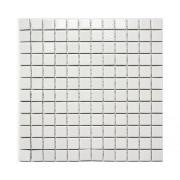 Mozaic ceramic CG 456 alb lucios 30x30 cm