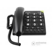 Telefon pentru oameni în vârstă Doro PhoneEasy 311c, negru