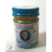 Thai Yellow Balm Herbal Relief for Headache Colds Hot Massage Liniment