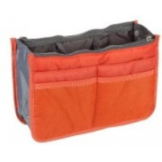 Inventure Retail Multipocket Handbag Organizer For Easy Bag Switching(Orange)