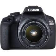Digitalni foto-aparat Canon EOS 2000D DC III Set (Sa 18-55mm), Crna